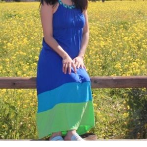 Small cute maxi dress
